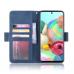 Capa Samsung Galaxy Note 10 Lite Flip Couro Azul