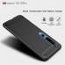 Capa Xiaomi Mi 10 / 10 Pro TPU Fibra de Carbono Azul