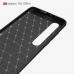 Capa Xiaomi Mi 10 / 10 Pro TPU Fibra de Carbono Verde
