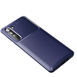 Capa para Motorola Edge TPU Azul