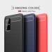 Capa Samsung Galaxy S20+ TPU Fibra de Carbono Preto