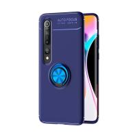 Capa Xiaomi Mi 10 / 10 Pro com Anel de Suporte Azul