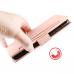 Capa de Couro Redmi Note 9S Rosa