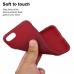 Capa iPhone SE 2020 TPU Vermelho
