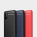 Capa Samsung Galaxy A31 TPU Fibra de Carbono Azul