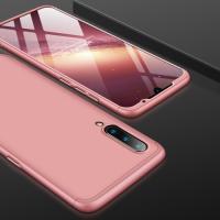 Capa Xiaomi Mi 9 Cobertura Completa das Bordas Rosê