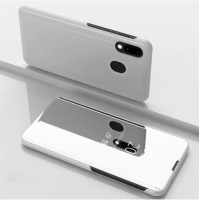 Capa Flip Espelhado para Xiaomi Mi 9 Prata