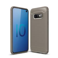 Capa Samsung S10e Fibra de Carbono Cinza