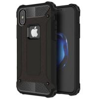 Capa Magic Armor Series de TPU e Plástico para Iphone X / XS Preto