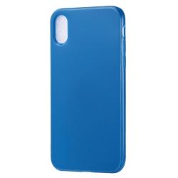 Capa para Iphone XS Max Silicone - Azul