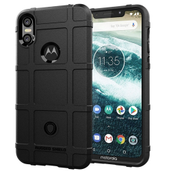 Capa Motorola One Shield - Preto
