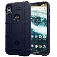 Capa Motorola One Shield - Azul