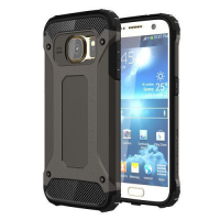 Capa Galaxy S7 de TPU e Plástico Armor Series (Preto)