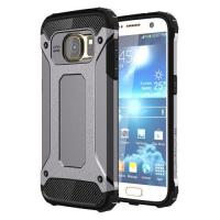 Capinha Galaxy S7 de TPU e Plástico Armor Series (Cinza)