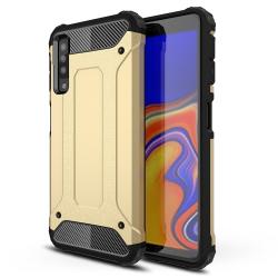 Capa Samsung Galaxy A7 2018 Armor Series - Dourado
