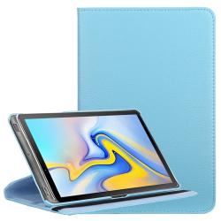 Capa Galaxy Tab A 10.5 T595 2018 Couro Azul
