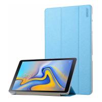 Capa Samsung Galaxy Tab A 10.5 T595 2018 ENKAY 2 Dobras Azul