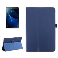Capa Galaxy Tab A 10.1 2016 P585 de Couro Azul Escuro